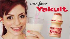 COMO FAZER: YAKULT em casa! 1 LITRO! MUITO fácil! DIY ♥ Receitinha!
