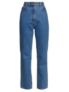 New The Row Charlee high-rise straight-leg jeans Womens Clothing. Fashion is a popular style Cool Outfits, Casual Outfits, Fashion Outfits, Boutique Basket, Looks Vintage, Looks Style, Mode Style, High Waist Jeans, Aesthetic Clothes