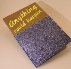 """A5 SIZE NOTEBOOK - SHINY - S/S 2015 """" Anything could happen """" #TheCOOLCompany"""