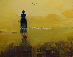 Weight of Balance Limited Freedom II Cathy Hegman 48 x 60 inches