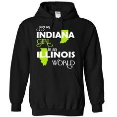 (INXanhChuoi001) Just An Indiana Girl © In A Illinois ︻ WorldIn a/an name worldt shirts, tee shirts
