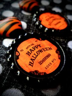 Ouija Halloween earrings by LttleShopOfHorrors on Etsy, $6.75