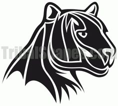 Tribal Panther Tattoo Designs | tweet author tribalshapes com url http www tribalshapes com