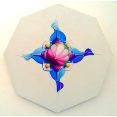 Specula 1, 2010, olio e acrilico su tavola, 80x80 cm - Ignazio Mazzeo #art #artobject #ignaziomazzeo