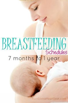Breastfeeding past 6 months can be very rewarding for both mom and baby. Here are sample schedules I followed to breastfeed my babies from 7 months until they turned a year old.