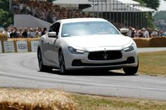 The all new #MaseratiGhibli has made its official UK debut at 2013 Goodwood Festival of Speed.