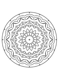 Free Geometric Coloring Pages Find This Pin And More On Mandalas