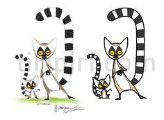 Lemurs Illustration - Поиск в Google