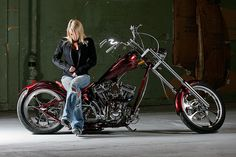 Lindsey on Chopper by kevin.hammond, via Flickr