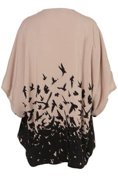 @Michelle Arbus  --this made me think of you.   Bird print sweater