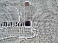 Deshilachado: Escuela de Bordado: Telas para bordar / Embroidery School: Fabrics to embroider