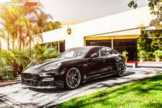 HRE Wheels Porsche Panamera Turbo | Flickr - Photo Sharing!