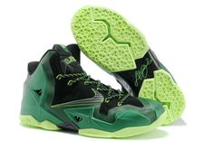 LeBron James XI Men Shoes in Black and Green, cheap Nike Lebron If you want to look LeBron James XI Men Shoes in Black and Green, you can view the Nike Lebron 11 categories, there have many styles Nike Lebron, Lebron 11, Lebron James, Kobe 9 Shoes, New Jordans Shoes, Nike Shoes, Air Jordans, Sneakers Nike, Shoes Sport