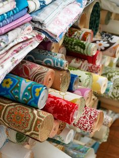 Vintage wallpapers to line drawers with, wallpaper backs of shelves, touches on cards, make envelopes...endless!