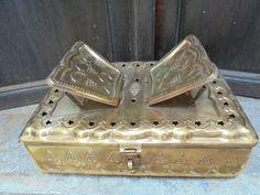 Koran Box Antique Indian Brass by Lallibhai on Etsy