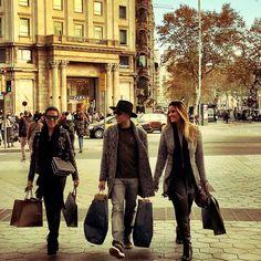 Shopping in Barcelona @ Passeig de Gràcia