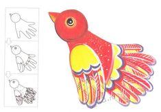 Рисование пальчиковыми красками - образцы рисунков
