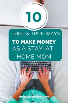 Looking for ways to make money from home? This post covers ten ideas to help you earn cash while being a stay-at-home mom! Work From Home Tips, Stay At Home Mom, Make Money From Home, Way To Make Money, Make Money Online, How To Make, Quotes About Motherhood, Making Extra Cash, Billionaire Boys Club
