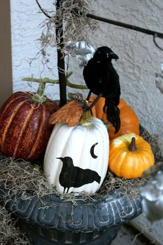 Get all you need to create this Halloween decor at Goodwill via @The Goodwill Gal  #goodwillhalloween