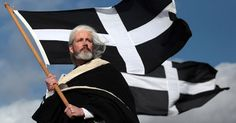 St Piran, patron saint of Cornwall Towns In Cornwall, John Torode, March Holidays, Dawn French, Celtic Nations, Celtic Pride, Kristin Scott Thomas, Newquay, Seaside Towns