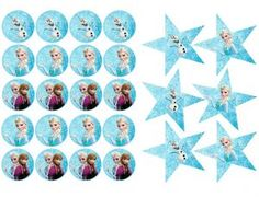 prikkers-frozen Frozen Birthday Party, Birthday Treats, Birthday Parties, Frosting Recipes, Buttercream Frosting, Elsa, Bento Box, Cake Toppers, Cupcake
