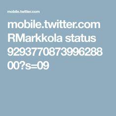 mobile.twitter.com RMarkkola status 929377087399628800?s=09