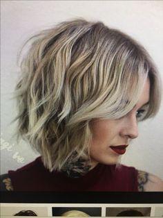 Modern Bob Hairstyles, Side Bangs Hairstyles, Cool Hairstyles, Cut Her Hair, Love Hair, Great Hair, Bob Haircut For Fine Hair, Pixie Haircut, Viktoria Beckham