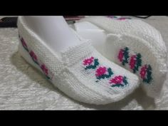 beş şiş patik yapılışı - YouTube Tunisian Crochet, Crochet Stitches, Knit Crochet, Sheep Tattoo, Noble People, Monster Tattoo, Wand Tattoo, Knit Art, Knitted Slippers