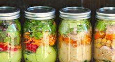 Vender salada no pote
