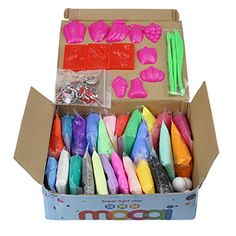 Craft Art Modelling Clay//Plasticine in Assorted Colours x 2 packs