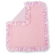 Pink Minky Blanket personalised for the perfect gift, a baby can never have to many blankets!