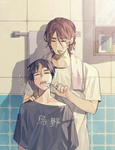 Nishinoya and Asahi