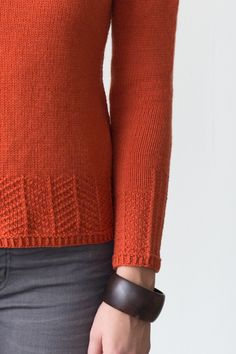 underwood by elizabeth doherty / in quince & co. chickadee
