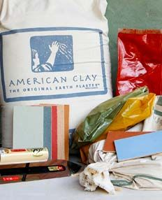 Eco/Green Building Materials Products: Clay American Wall Finishes category
