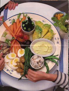 Martha Stewart's Le Grand Aioli recipe