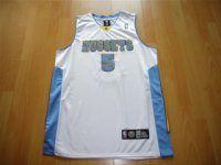 Denver Nuggets NBA #5 White J.R. Smith Jersey [F366]