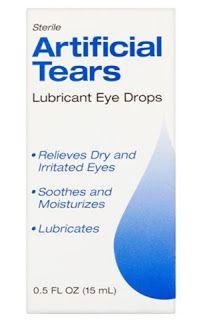 دليل القطرات Artificial Tears آرتيفيشيال تيرز Lubricant Eye Drops Eye Drops Lubricant