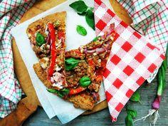 Antipastaa: Gluteeniton, viljaton, maidoton ja hiivaton pizza