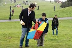 In the end, Amir adopted him Sohrab and moved to California. In this image, Amir is playing the father figure of Hassan and he teaches Sohrab how to fly a kite and ran the kite just like what Hassan used to do to him. The Kite Runner, Picnic Blanket, Outdoor Blanket, Cacciatore, Moving To California, Father Figure, Scene, Movies, Image