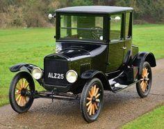 1924 Model T Ford Doctors Coupé