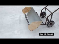 Welding Projects, Woodworking Projects, Projects To Try, Homemade Tractor, Snow Plow, Garage, Metal Furniture, Wood And Metal, Inventions