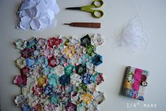 "1/4"" mark: Tutorial: English Paper Piecing for Hexagon Patchwork"