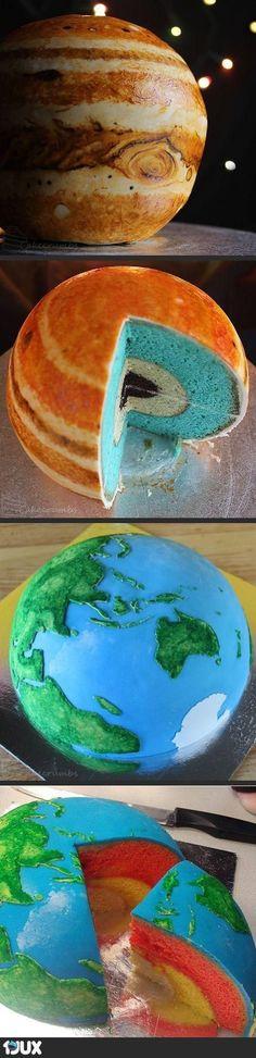 Planetenkuchen