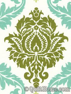 Aviary 2 JD43-Dill Fabric by Joel Dewberry {$8.95 per yard}