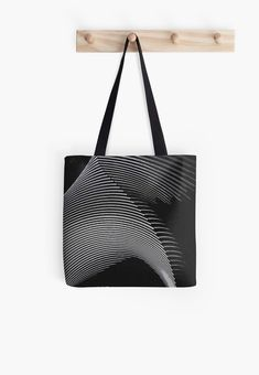 Gray waves, line art, curves, abstract pattern 2 Large Bags, Small Bags, Iphone Wallet, Iphone Cases, Samsung Galaxy Cases, Medium Bags, Abstract Pattern, Cotton Tote Bags, Cool Shirts