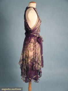 Yves Saint Laurent Couture Cocktail Dress, 1970s, Augusta Auctions, April 2009 Vintage Fashion and Textile Auction, Lot 360