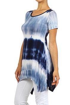 Plus Size Navy Tie Dye Tunic --Size: 2x Color: Navy alight http://www.amazon.com/dp/B00TQQEDKW/ref=cm_sw_r_pi_dp_uitDvb0A01ZH9