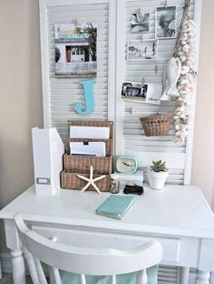 8 Best Beach Themed Office Decor Images