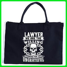 Lawyer We Are The Willing Working For The Ungrateful - Tote Bag - Top handle bags (*Amazon Partner-Link)