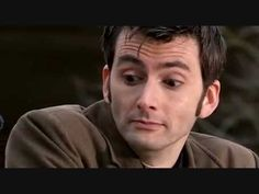 The Tenth Doctor bantering